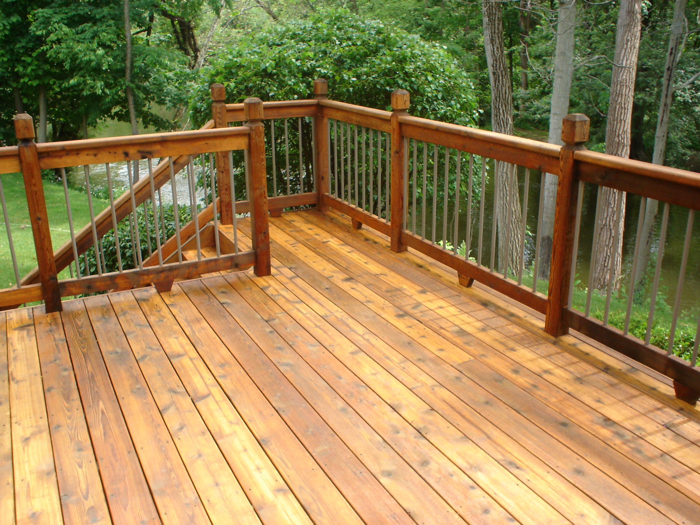 Deck Cleaning In Goshen In Midwest Pro Wash