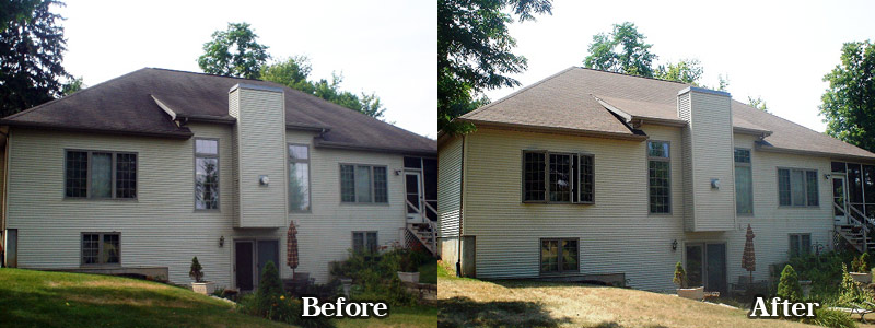 Shingle Roofs Midwest Pro Wash Indiana And Michigan