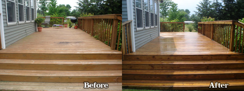 Wood Decks Midwest Pro Wash Indiana And Michigan